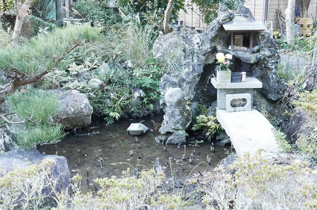 妙長寺の池