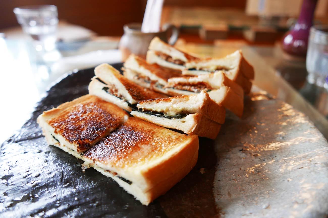 コーヒー専科連絡船の磯トースト