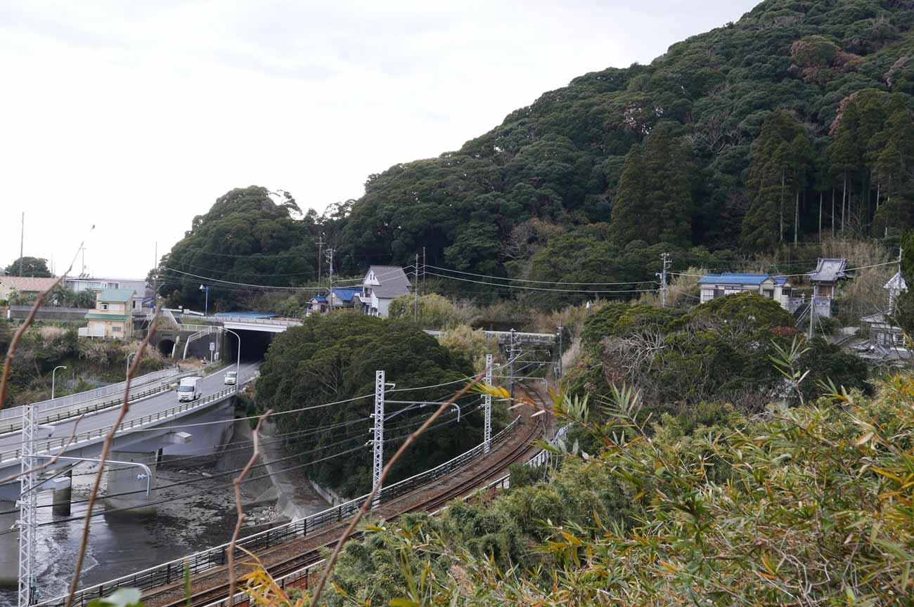 山生橋梁と房州大橋