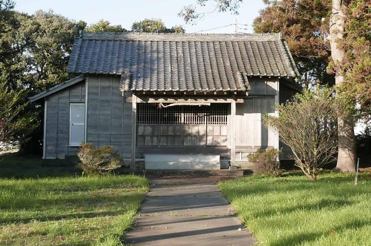広瀬八幡神社の境内