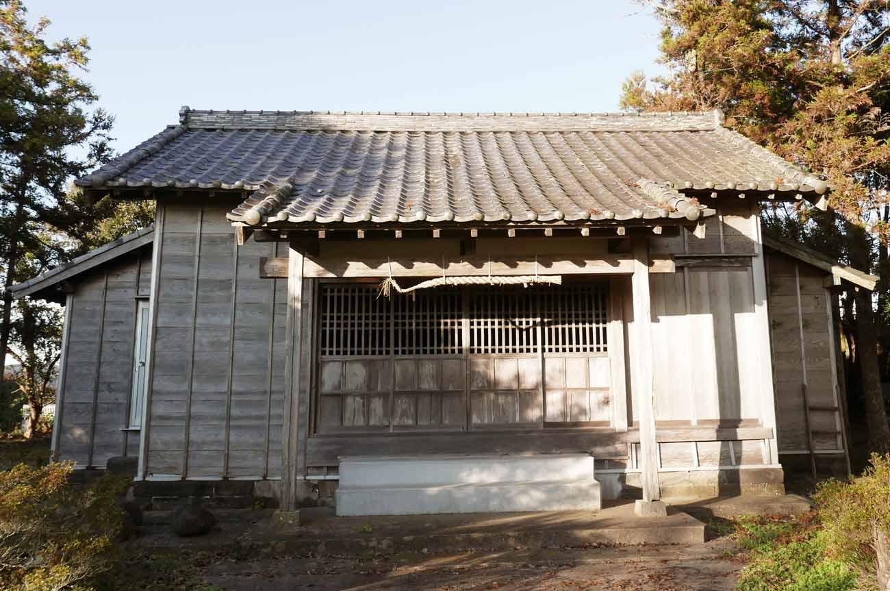広瀬八幡神社の拝殿