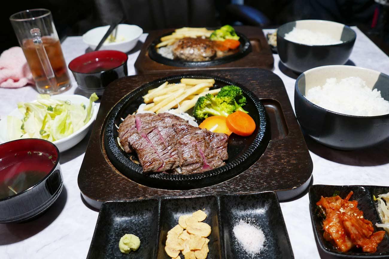 肉バルRossoの赤身ステーキ