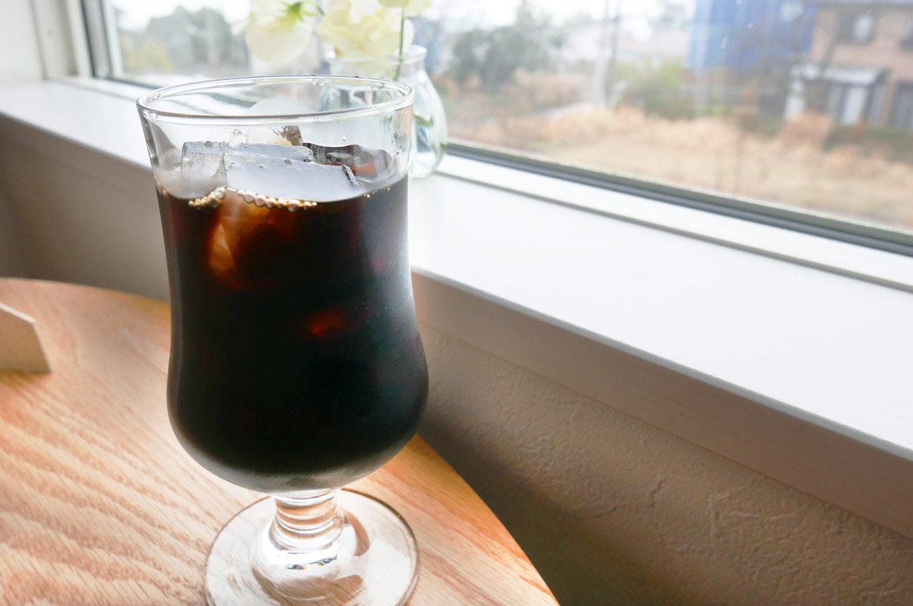 海猫珈琲店のアイスコーヒー