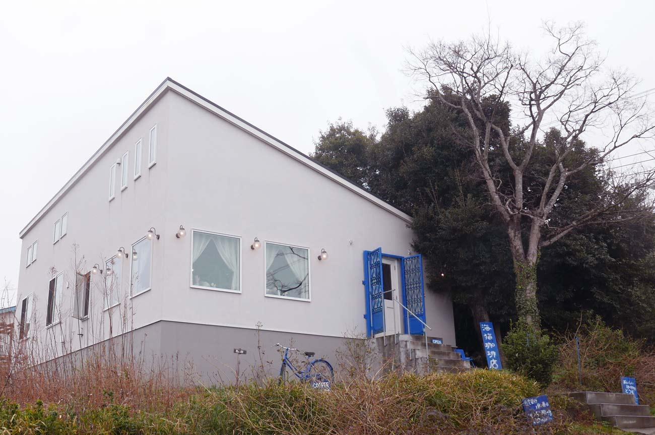 海猫珈琲店の店舗外観