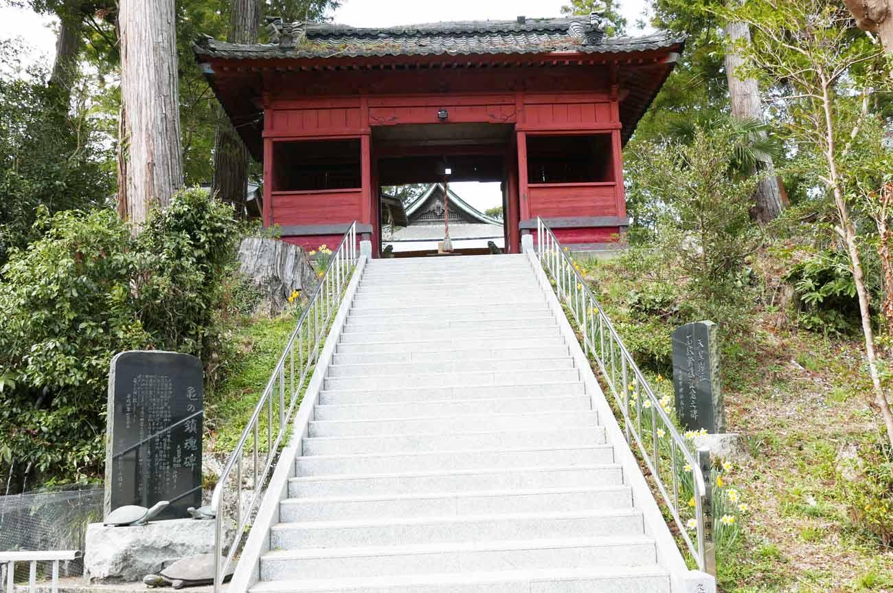 久留里神社の随身門