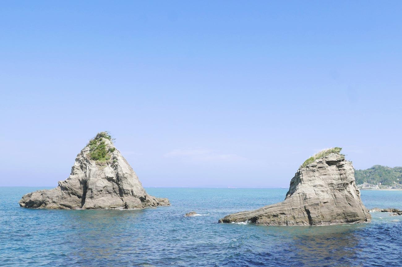 ずずめ島と船虫島