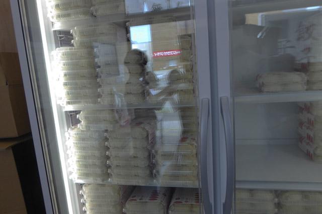 餃子の冷凍庫