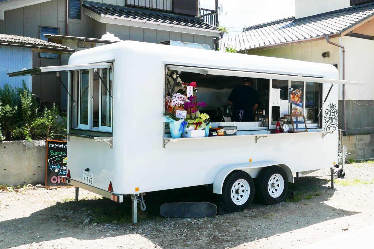 the street standの店舗外観