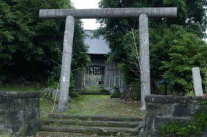 豊受神社【珍しい鳥居の神社】
